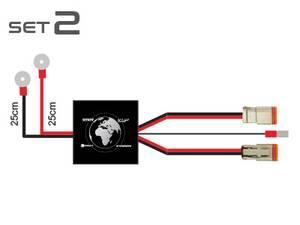 Bilde av Elektronisk ledningsnett med DT-2 kontakt 2 x 100