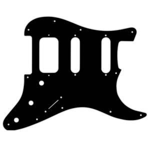Bilde av Stratocaster HSS - American Deluxe/Lone Star - svart 3 lags