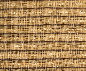 Bilde av Frontstoff Beige Brown Gold Stripe
