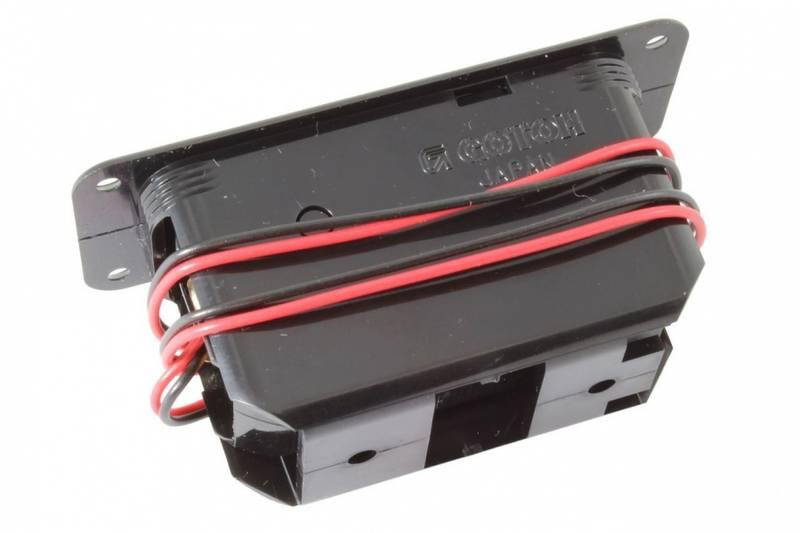 Batteriboks for innfelt montering - 9V