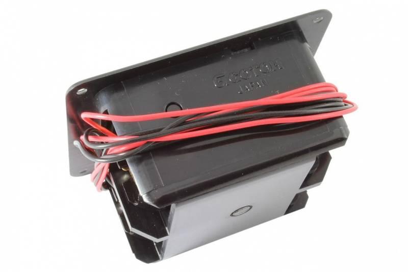 Batteriboks for innfelt montering - 2 stk 9V