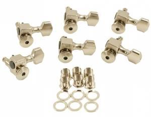Bilde av Sperzel Locking Tuners 6 IL - nikkel