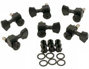 Bilde av Sperzel Locking Tuners 3 + 3 - sateng svart