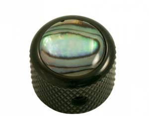 Bilde av Dome knob - svart - natural abalone