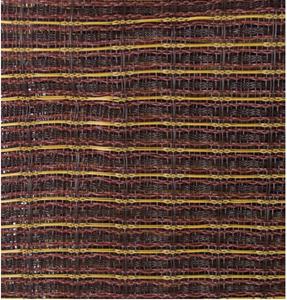 Bilde av Frontstoff Ox Blood Gold Stripe