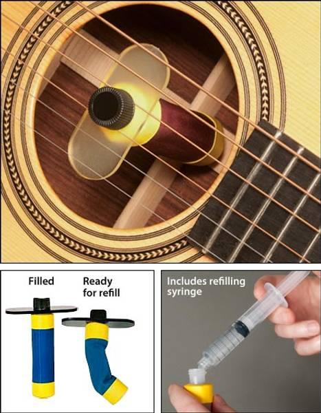 Oasis luftfukter for gitar