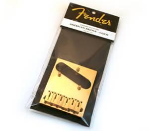 Bilde av Fender American Series Tele Bridge - gull