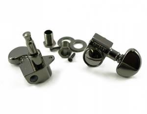 Bilde av Grover Rotomatic 18:1 - 3+3 svart nikkel