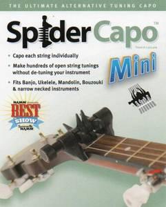 Bilde av Spider Capo mini for mandolin - ukulele og banjo