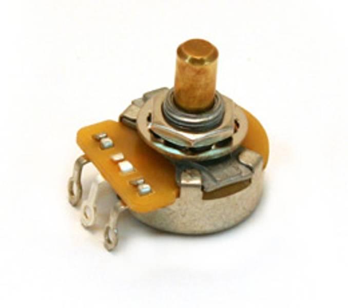 Potmeter 1MEG solidshaft Fender