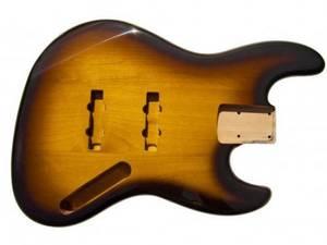 Bilde av Jazz Bass Body - Tobacco Sunburst