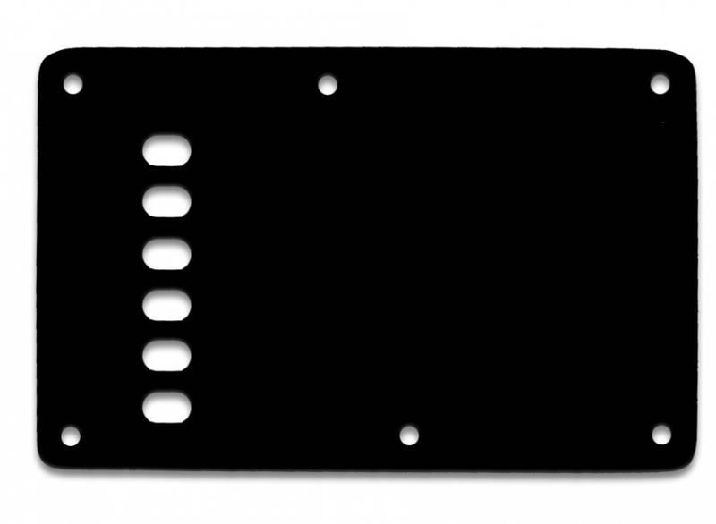 Bakplate for Fender Stratocaster - svart Vintage