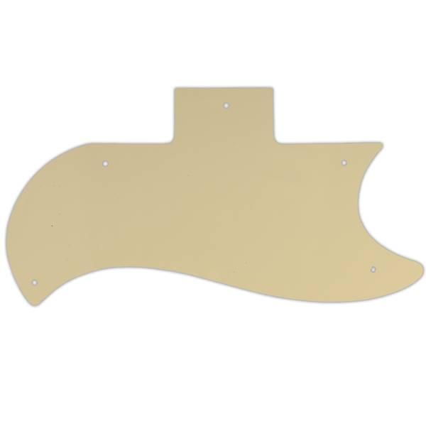 Plekterbrett for Gibson SG Standard - krem 3 lags