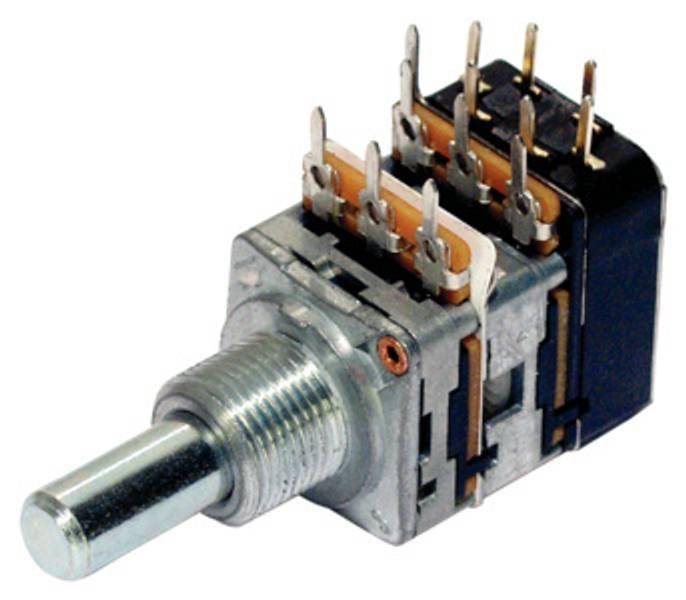 MEC potmeter tone  2 x 220K med DPDT switch