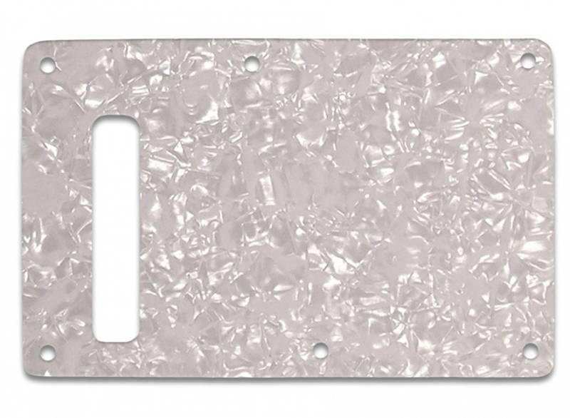 Bakplate for Fender Stratocaster - White Pearl