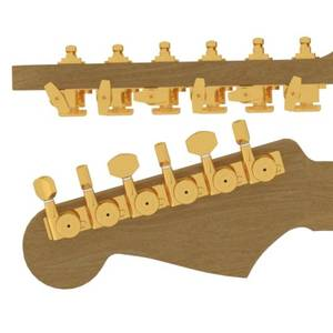 Bilde av Hipshot Locking UMP Kit Fender - Gold