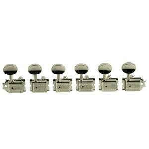 Bilde av Kluson Deluxe Series - 6 IL - locking - nikkel