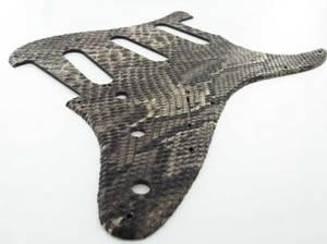 Bilde av Stratocaster SSS - SynSkin Python - svart
