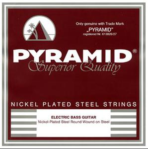 Bilde av Pyramid Flat Wound Nickel Plated Steel - Fender VI