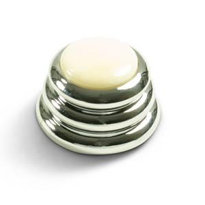 Bilde av Ringo knob - krom - ivory inlay