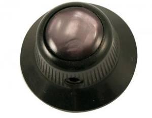 Bilde av Ufo knob - svart  - black pearl