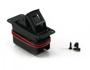 Bilde av Batteriboks for innfelt montering - 9V