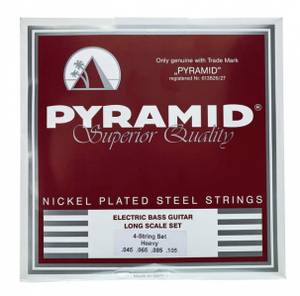 Bilde av Pyramid Bass Nickel-Plated Steel .045 - .105