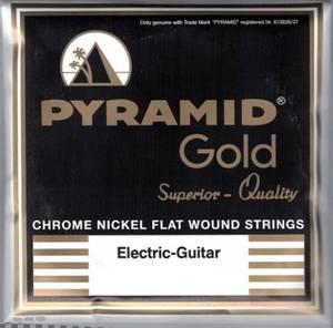 Bilde av Pyramid Gold Flatwound - 012 - 052