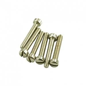 Bilde av Polepiece skrue for humbucker - nikkel - 12 stk