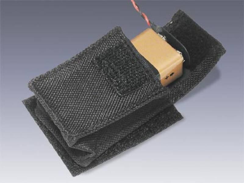 Batterilomme for innvendig montering - 9V
