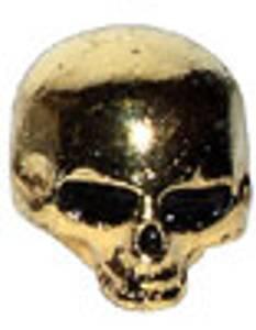 Bilde av Skull knob - gull
