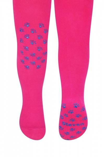 Cotton Candy Strømpebukse Mørk rosa/lilla Anti skli Steven
