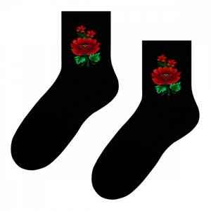 Bilde av Sokker med blomster Steven