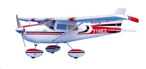 Bilde av Cessna 182 m/fjernstyring 27MHz