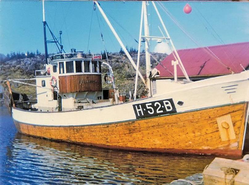 Follabuen fiskekutter V2. 750 mm 1:25