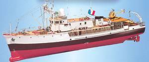 Bilde av Calypso forskningskip. 940 mm. 1:45