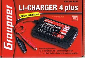 Bilde av Lader Li-Carger 4 Plus LiPo/LiLo/LiFe