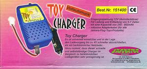 Bilde av Lader 12V. Toys-Automat 5-7 celler/250-900 mAh.