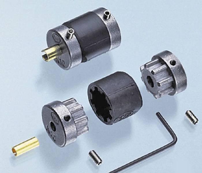 Motorkobling kraftig 5/4x4/3,2mm. fleksibel