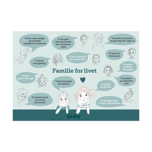 Bilde av Familieplakat (A4)
