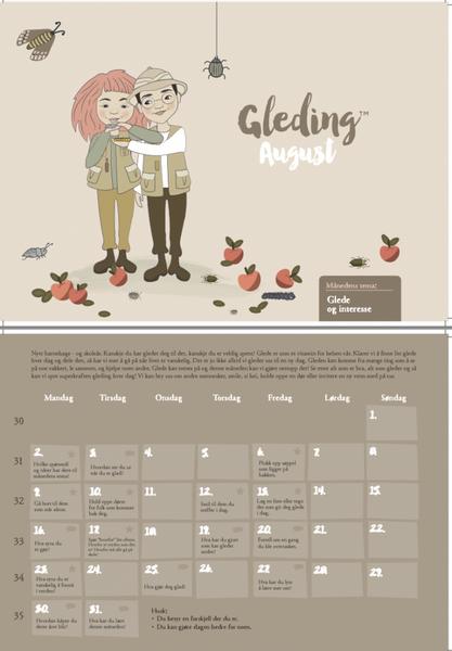 Gledingkalenderen 2021/2022