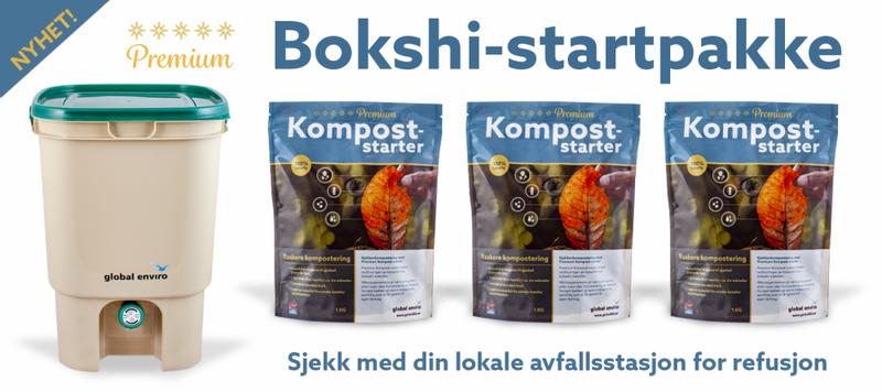 Premium Bokashi-startpakke