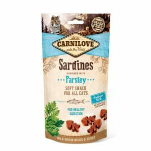 Bilde av Carnilove CAT Semi-Moist Snack Sardine 50g