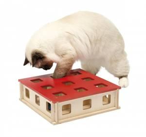 Bilde av Katteleke Aktivitetsleke Magic Box 27x27x8,5cm