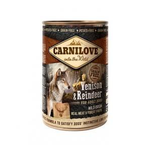 Bilde av Carnilove Canned Venison&Reindeer 400g