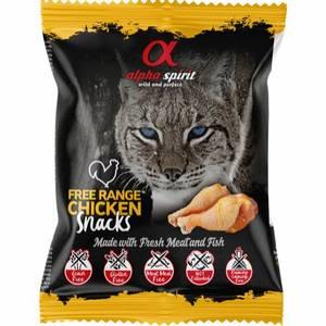 Bilde av AlphaSpirit CAT Chicken Snack 50g