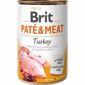 Bilde av Brit Care Pate & Meat Turkey 400g