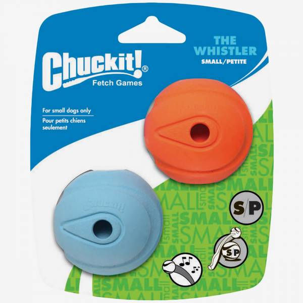 Chuckit The Whistler 2pk - Small