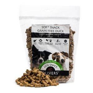 Bilde av Olivers Grain Free Soft Snack - Duck 1kg