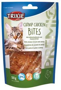 Bilde av Premio Catnip Chicken Bites, 50 g